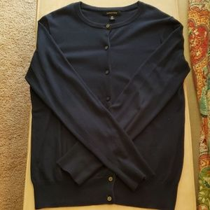 Lands End Button Up Cardigan